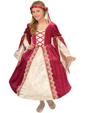 English Princess Costume For Girls