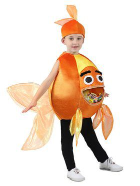 Feed Me Beta Fish Child Costume