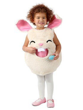 Girls Feed Me Bunny Child Costume