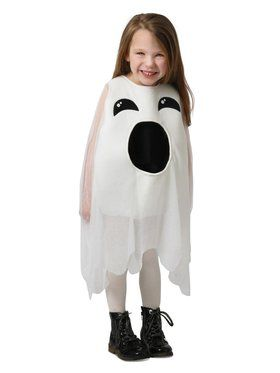 Girl's Feed Me Ghost Costume
