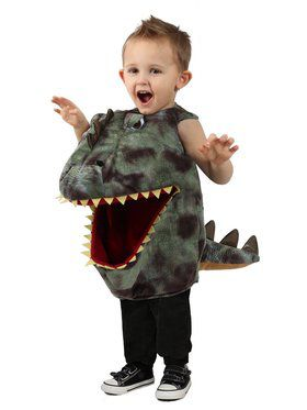 Feed Me Girl's Dino Costume