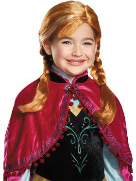 Girl's Frozen Anna Girl's Wig