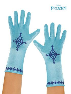 Girl's Frozen Anna Gloves