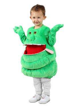 Girls Ghostbusters - Feed Me Slimer Child Costume