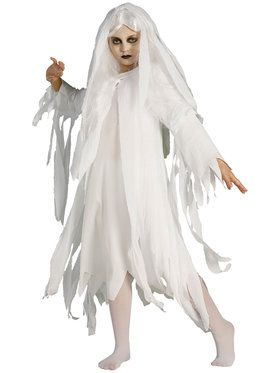 Haunted Ghost Costume for Girls