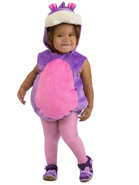 Girls Halley the Hippo Child Costume