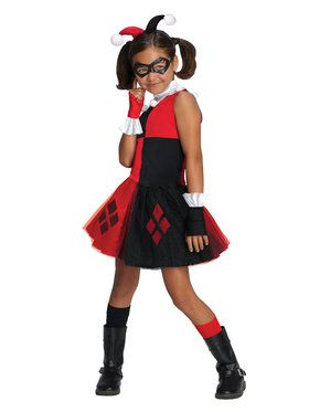 Harley Quinn Tutu Dress For Children