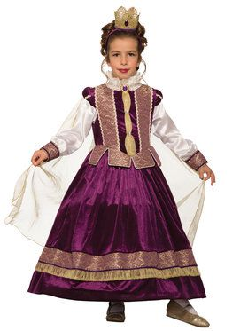 Her Majesty Costume For Girls