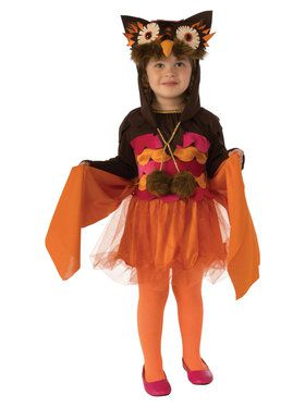 Hoot Owl Costume for Girls