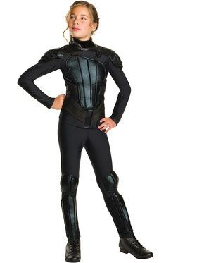 Girl's Hunger Games Mockingjay Katniss Everdeen Costume