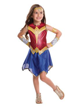 Girls Wonder Woman Justice League Costume