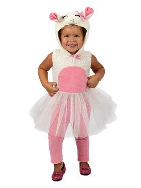 Girls Liza Lamb Child Costume