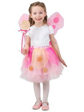 Lollipop Fairy Girl's Skirt Set