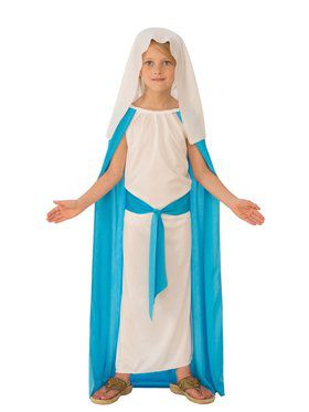 Girl's Mother Mary Costume