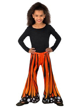 Monarch Butterfly Pants Girls Costume