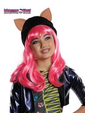 Girlu0027s Monster High Howleen Wolf Wig  sc 1 st  Wholesale Halloween Costumes & Monster High Halloween Costumes at Low Wholesale Prices for Adults ...