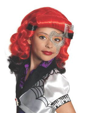 Girls Monster High Operetta Wig