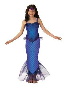 Mysterious Mermaid of the Sea Costume