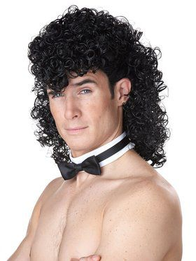 Girl's Night Out Wig Black for Men