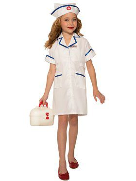 Nurse Girl's Costume