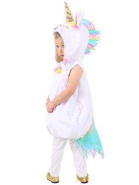 Pastel Unicorn Girl's Costume