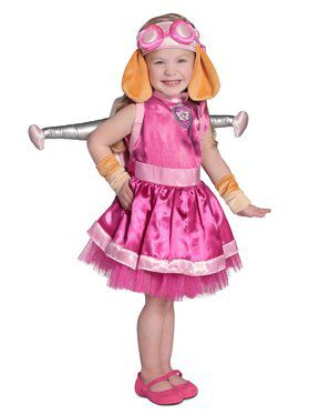 Girls Paw Patrol Skye Child Costume