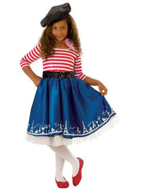 Petite Mademoiselle Costume for Girls