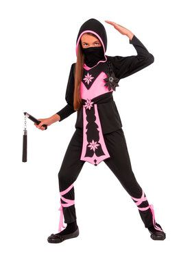 Pink Crystal Ninja Costume For Children