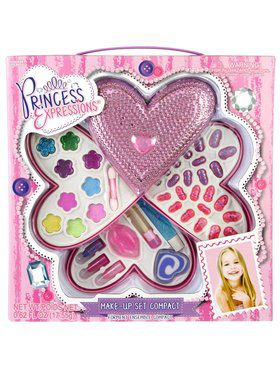 Girl's Pink Heart Shaped Makeup Kit