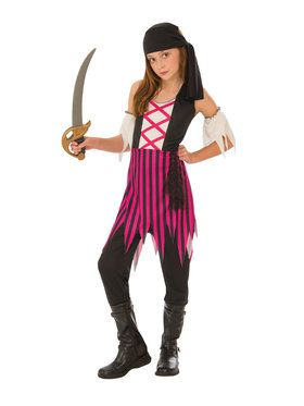 Pirate Costume for Girls