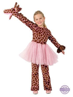 Playful Puppet Giraffe Costume