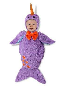 Girls Pokey the Narwhal Child Costume