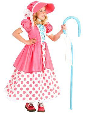 Polka Dot Bo Peep Girl's Costume