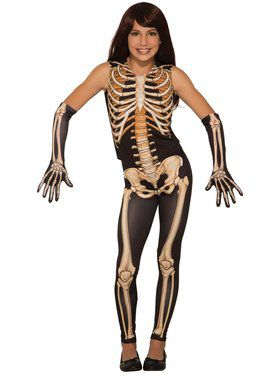 Pretty Bones Girls Costume