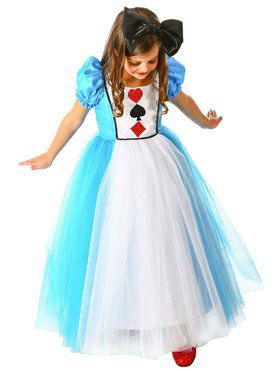 Princess Alexandra Girl's Costume