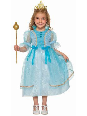 Princess Betsy Blue Girl's Costume