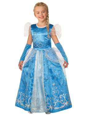 Princess Celestia Blue Girl's Costume