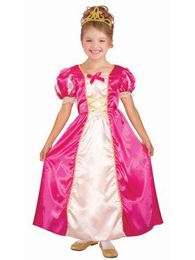 Girls Princess Cerise Costume