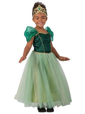 Princess Giselle Girls Costume