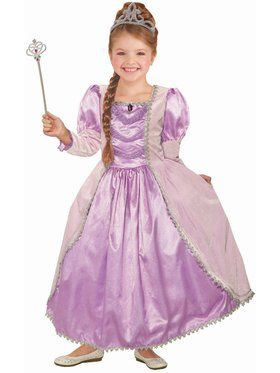Lady Lavender Girl's Princess Costume