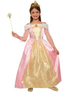 Girls Princess Paisley Rose Costume