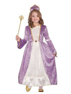 Princess Peyton Purple Girl's Costume