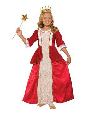Princess Rachel Red Girls Costume
