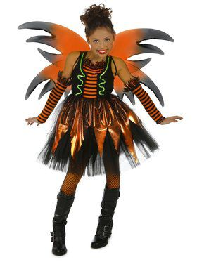 Child Halloween Fairy Ravena Costume