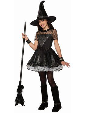 Rebel Rock Witch Costume for Girls