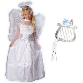 Girls' Rosebud Angel Costume Kit