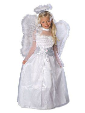 Girls' Rosebud Angel Costume