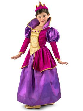 Royal Jewel Princess Girls Costume