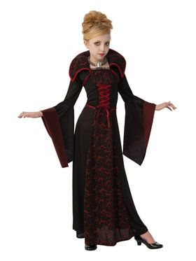 Girls Regal Vampire Costume