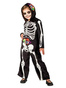 Skelly Belly Costume for Kids